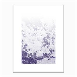 Purple Ocean Canvas Print
