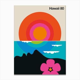Hawaii 80 Canvas Print