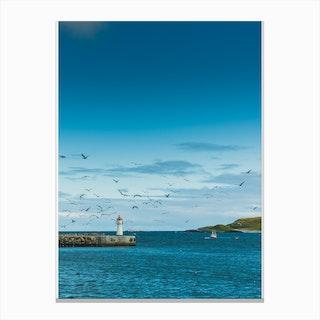 Vardø Harbour Canvas Print