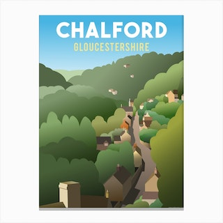 Chalford Gloucestershire Canvas Print