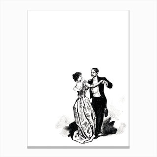 Waltz Canvas Print