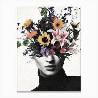 Surreal Bloom Canvas Print