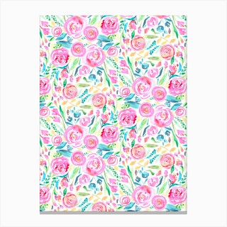 Spring Days Pink Canvas Print