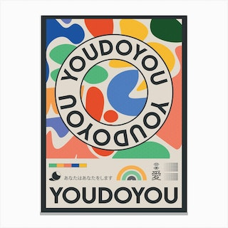 The Youdoyou Canvas Print