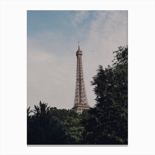 Paris Jungle Canvas Print
