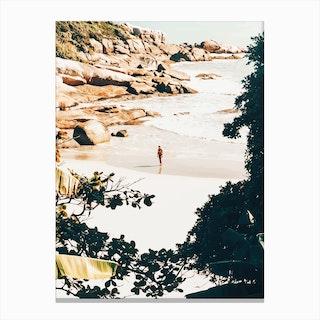 Solo Traveler Ii Canvas Print