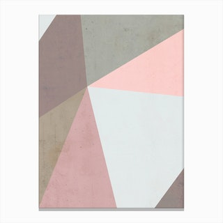Delicate Geometry Canvas Print