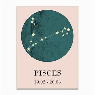 Pisces  I Canvas Print