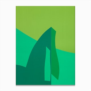 Green Fantasy 1 Canvas Print