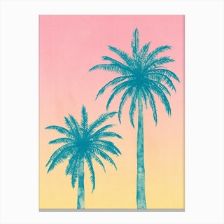 Palm Trees in Canvas Print