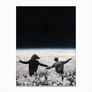 Lets Go And Feel Free Canvas Print