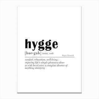 Hygge Canvas Print