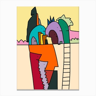 Kilpa City Canvas Print