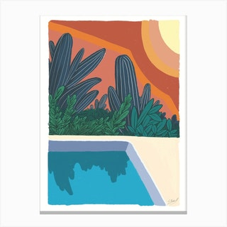 Holiday Dreaming Canvas Print