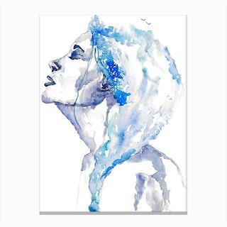 Blues I Canvas Print
