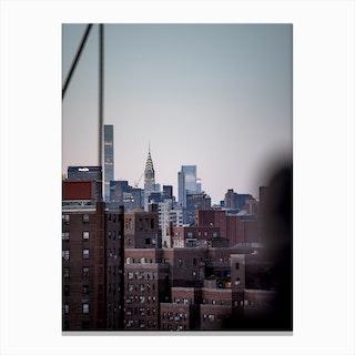 Manhattanites Iii Canvas Print