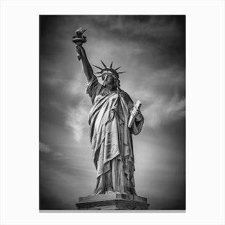 New York City Statue of Liberty Canvas Print