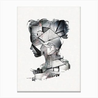 Introspective Canvas Print