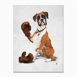 The Boxer (Wordless) Canvas Print