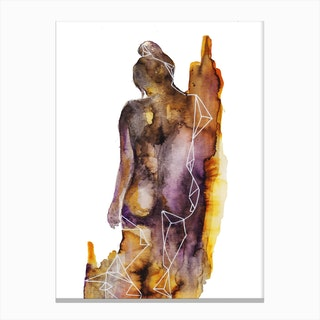Body Canvas Print