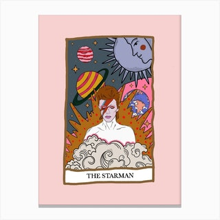 The Starman Canvas Print