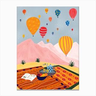 Hot Air Balloon Turkey Canvas Print