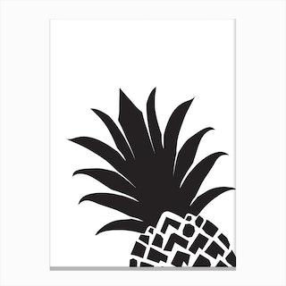 Pineapple Corner Canvas Print