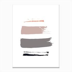 Peachy Canvas Print