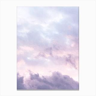 Pastel Clouds Canvas Print