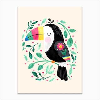 Cheeky Toucan Canvas Print