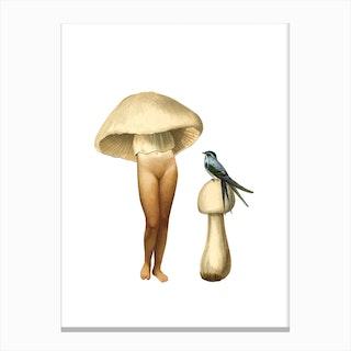 Ladyshroom#1 Canvas Print