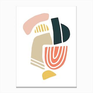 Pebble I Canvas Print