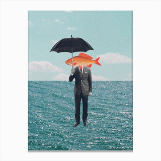 Can't Get Wet Canvas Print