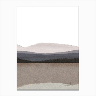 Paper Land Deux Canvas Print