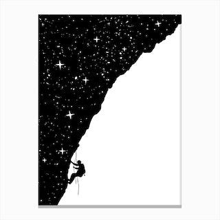 Nightclimbing Canvas Print