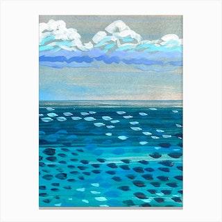 Ocean Memory Canvas Print