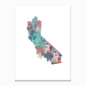 California Florals Canvas Print