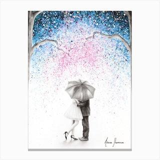 The Midnight Kiss Canvas Print