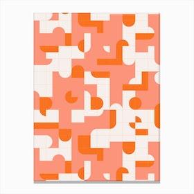 Puzzle Tiles Canvas Print