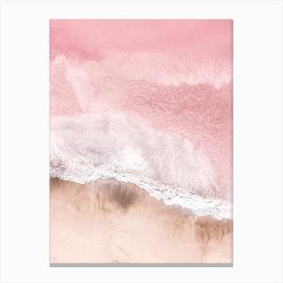 Pink Sea Canvas Print