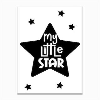 My Little Star Canvas Print