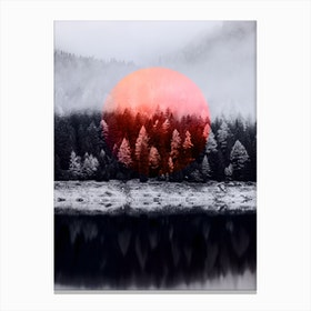 Soul of Forest Canvas Print