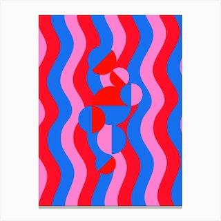 Wavy Feels Canvas Print