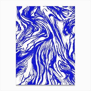 Marble Royal Canvas Print