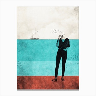 It'S My Escape From Reality Canvas Print