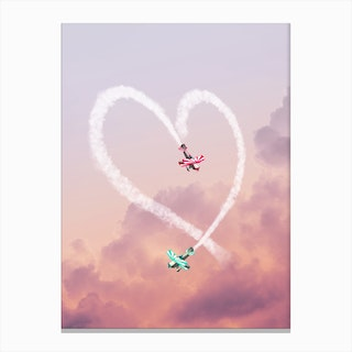 Love Is In The Air Canvas Print
