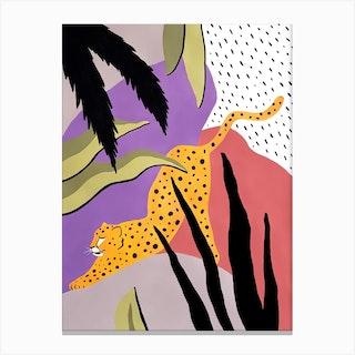 Keep Calm Cheetah Canvas Print