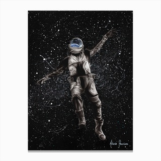 A Space Adventure Canvas Print