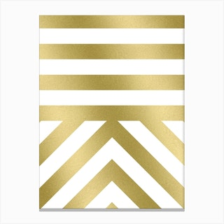 Modern 03 Gold Canvas Print