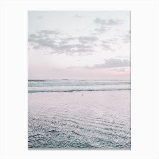 Pastel Beach I Canvas Print